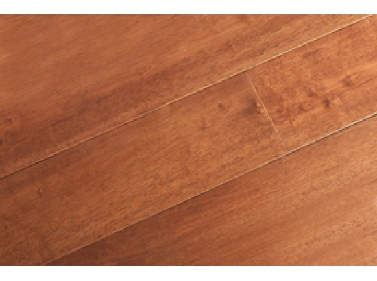 Однополосная трехслойная паркетная доска из Гевеи (лак)