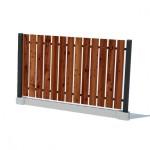 Забор вертикальный